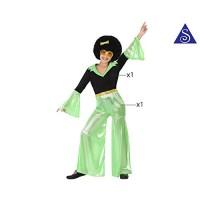 Костюм на танцьор на диско за момиче. Карнавален костюм за Момиче, 115-130 см