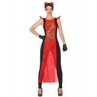 Костюм на самурай за жена. Карнавален костюм за Жена, Размер: XL