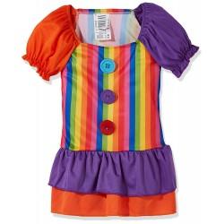 Рокля на клоун за момиче. Карнавален костюм за Момиче, Възраст: 4 години