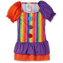 Рокля на клоун за момиче. Карнавален костюм за Момиче, Възраст: 8 години