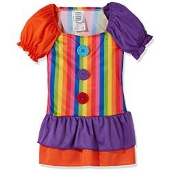 Рокля на клоун за момиче. Карнавален костюм за Момиче, Възраст: 9 години