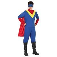 Костюм на супергерой за мъже. Карнавален костюм за Мъж, Размер: M