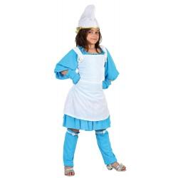 Костюм на смърф за момиче. Карнавален костюм за Момиче, Възраст: 9 години