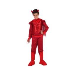 Костюм на дявол за момче. Карнавален костюм за Момче, Възраст: 9 години