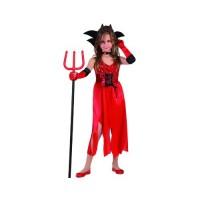 Костюм на дявол за момиче. Карнавален костюм за Момиче, Възраст: 4 години