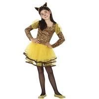 Костюм на леопард за момиче. Карнавален костюм за Момиче, Възраст: 4 години