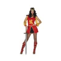 Костюм на жената войн. Карнавален костюм за Жена, Размер: M/L