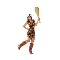 Костюм на праисторическа жена. Карнавален костюм за Жена, Размер: M/L