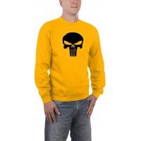 Мъжка блуза с дълъг ръкав и логото на Наказателя