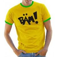 """Мъжка тениск с надпис """"BÄM!"""" ('BAM!')"""