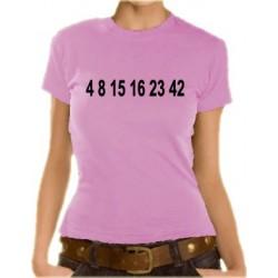 Дамска тениска с Цифри
