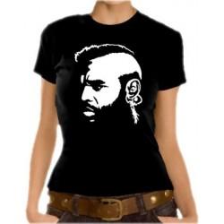 Дамска тениска с лика на Мистър Т от (А-Отбора)