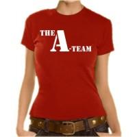 Дамска тениска с логото на А-Отбора