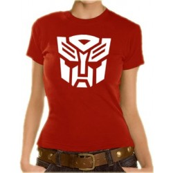 Дамска тениска с логото на Трансформърс