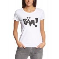 Дамска тениска с надпис на немски Бам