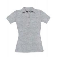 Дамска тениска с яка без надписи
