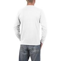 Мъжка тениска с дълъг ръкав и надпис на английски Падащ човек