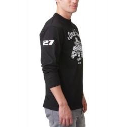 Мъжка тениска с дълъг ръкав надпис TIERRA DEL FUEGO