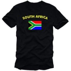 Мъжка тениска с флага на Южна Африка