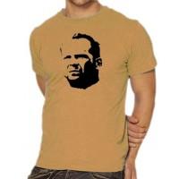 Мъжка тениска с лика на Брус Уилис