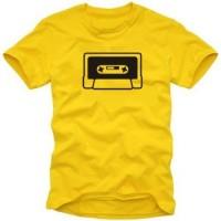 Мъжка тениска с лого Касетка