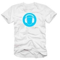 Мъжка тениска с лого Слушалки