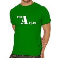 Мъжка тениска с логото на А-Отбора