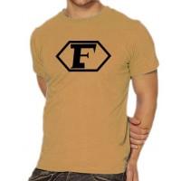 Мъжка тениска с логото на Капитан Фючър