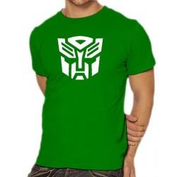 Мъжка тениска с логото на Трансформърс