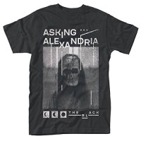 Мъжка тениска с надпис Asking Alexandria The Black