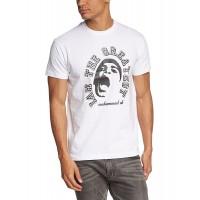 Мъжка тениска с надпис и лик наАз съм най-големия ,Мохамед Али