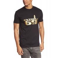 Мъжка тениска с надпис на английски Екстремно 69