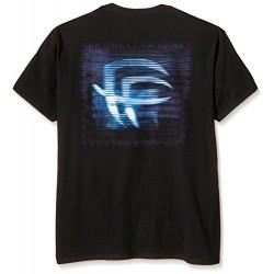 Мъжка тениска с надпис на английски Фабрика за страх