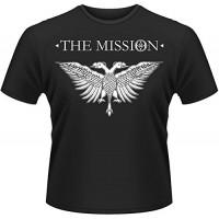 Мъжка тениска с надпис на английски Мисията