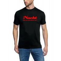 Мъжка тениска с надпис на немски Изглеждам дори по добре ,гол