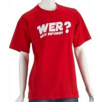Мъжка тениска с надпис на немскиКой го е измислил?