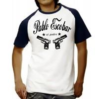 Мъжка тениска с надпис Пабло Ескобар