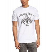 Мъжка тениска с надпис TIERRA DEL FUEGO