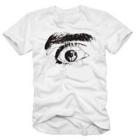 Мъжка тениска с рисунка Око