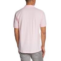 Мъжка тениска с яка и надпис TIERRA DEL FUEGO