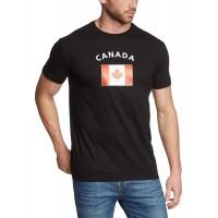 Мъжка тениска с знамето на Канада