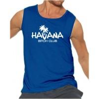 Мъжки потник с надпис на английски Havana - Bitch Club